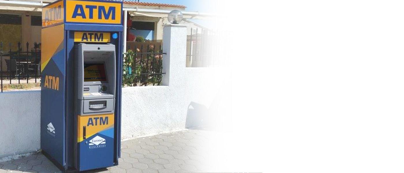 Προσφέρετε στους πελάτες σας μια επιπλέον υπηρεσία με ένα ΑΤΜ της Euronet.